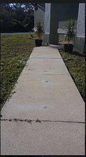 Port Charlotte Sidewalk Repair Job After Image - Environmental Foam Solutions