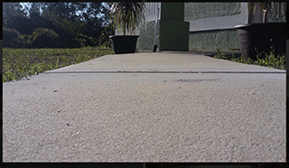 Port Charlotte Sidewalk Repair After Image - Environmental Foam Solutions