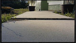 Port Charlotte Sidewalk Repair Before Image - Environmental Foam Solutions